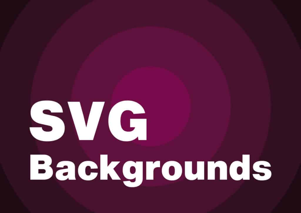 Weekly Design Tools: SVG Backgrounds