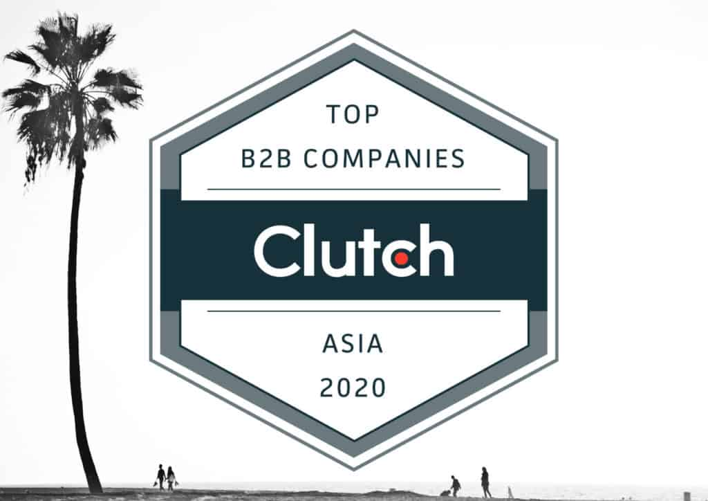 Lytbox Awarded as Top B2B Company in Asia by Clutch!