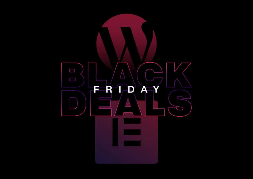 Black Friday for Elementor Users & Web Designers 2020